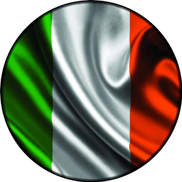 IRELAND FLAG 4x4 Spare Wheel Cover DECAL STICKER